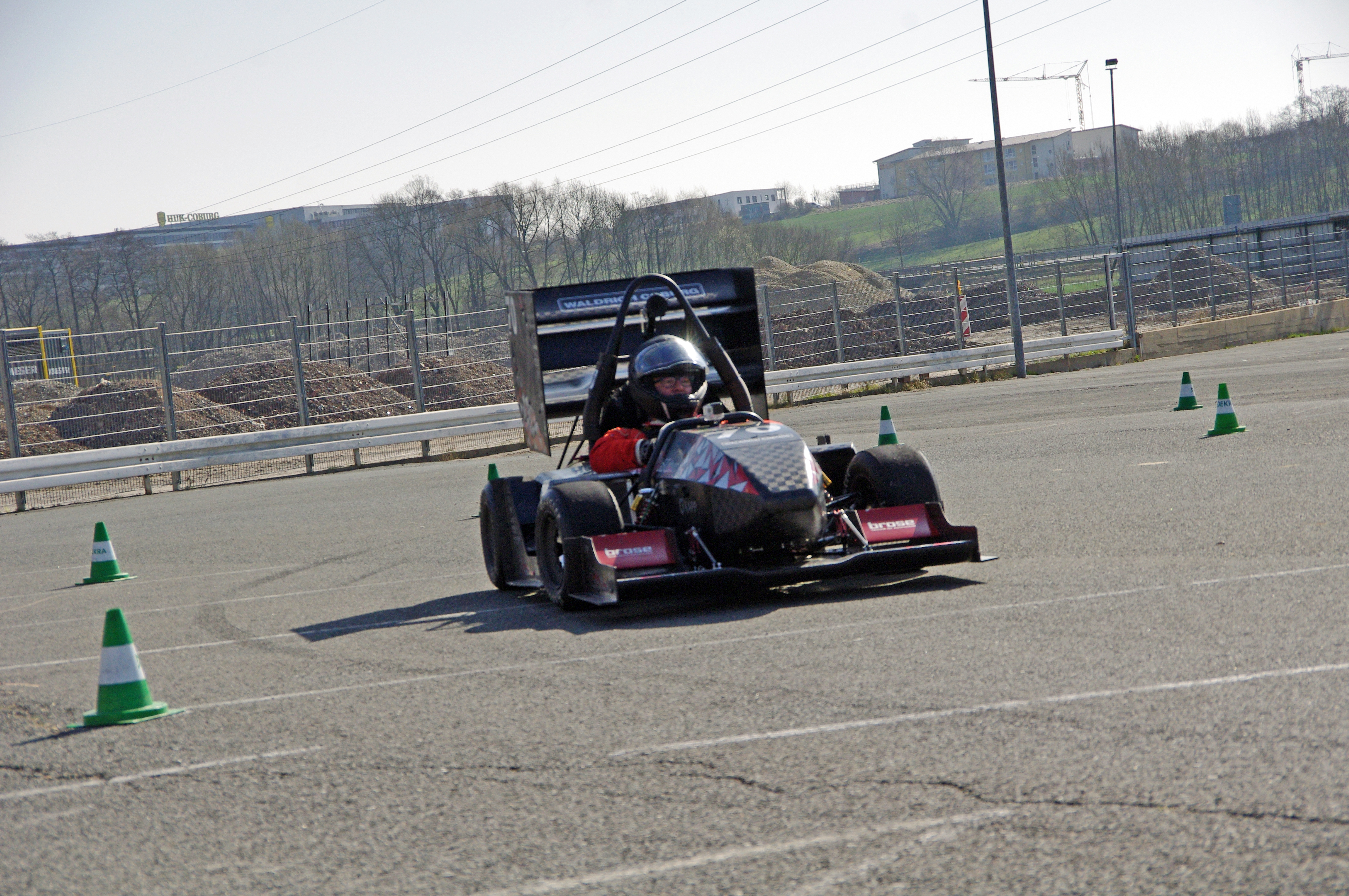 CAT Racing Team Roll-Out und SponsorRace